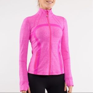 Lululemon Define Jacket Heathered Pink